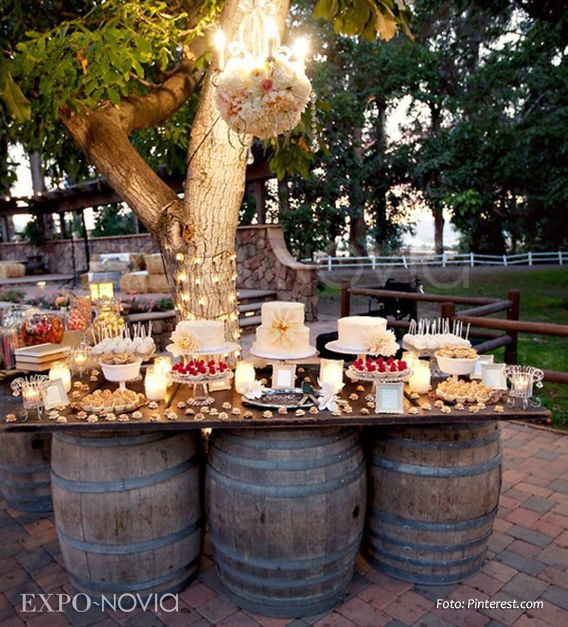 vintage outdoor wedding decorations estilos en decoraci 243 n para tu mesa de postres exponovia 8291