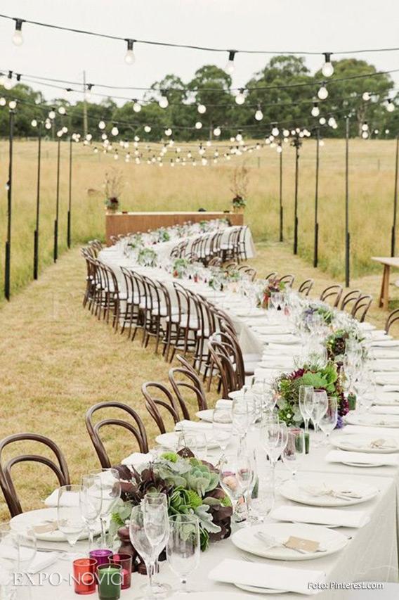 Boda con estilo r stico exponovia - Todo lo necesario para una boda ...