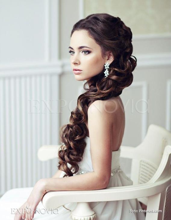 Ideas de peinados para cabello largo exponovia - Cabello largo peinados ...
