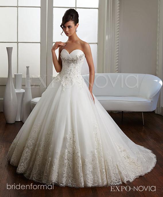 10 vestidos de novia corte princesa para un día especial | exponovia