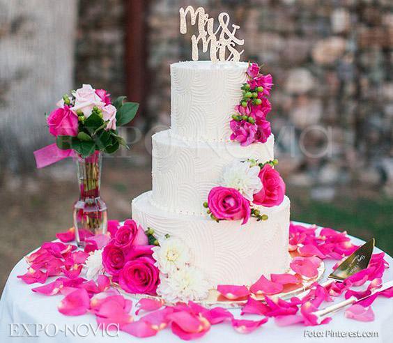 Flores La Decoración Perfecta Para Tu Pastel Exponovia