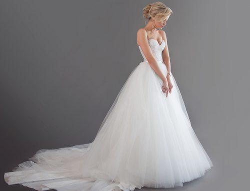 8 vestidos corte princesa que amarás para tu boda