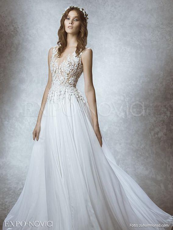 Imagenes de vestidos de novia con transparencias