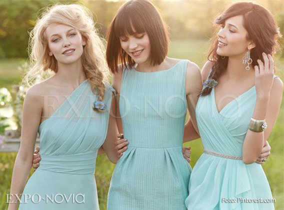 Vestidos para damas de honor primavera