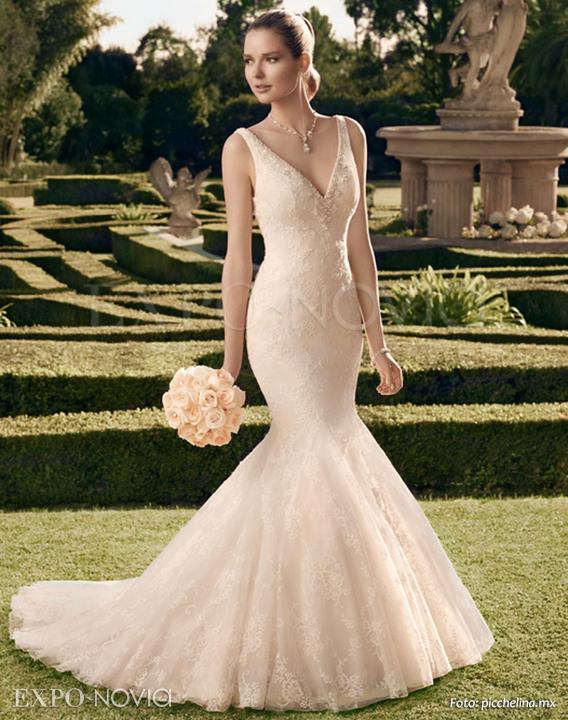 Ramos de novia para vestidos corte sirena
