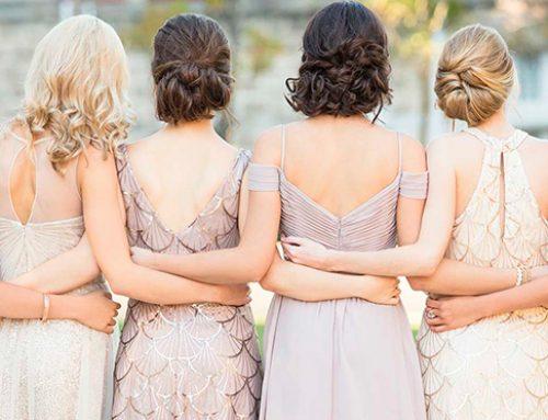 Damas de honor con gran estilo