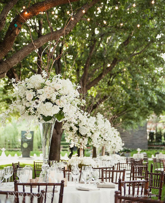 Ideas de decoraci n para boda en jard n exponovia for Boda en un jardin
