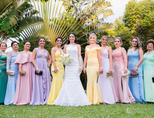 ¡Vestidos color pastel para tus damas de honor!