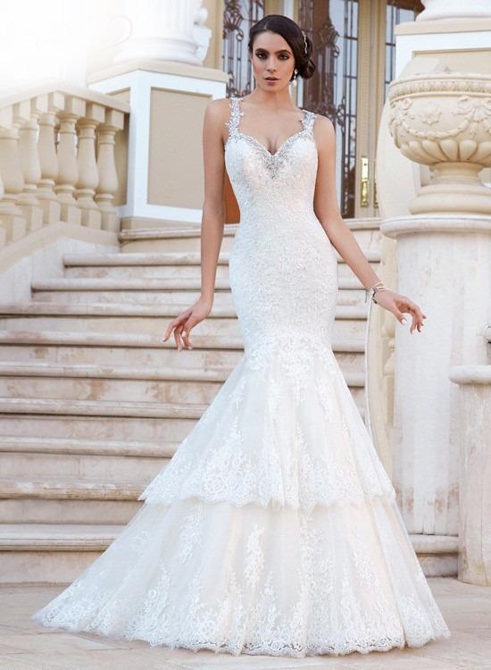 Imagenes de vestido de novia estilo sirena