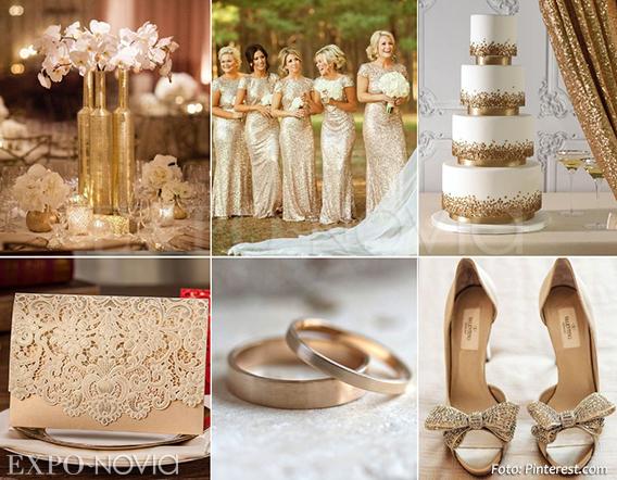 6 colores para decorar tu boda exponovia for Decoracion de pared para matrimonio
