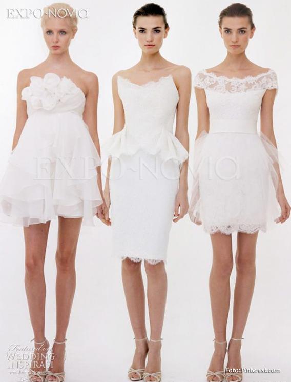 e7b74228b53 Ideas para el vestido de mi boda civil   ExpoNovia
