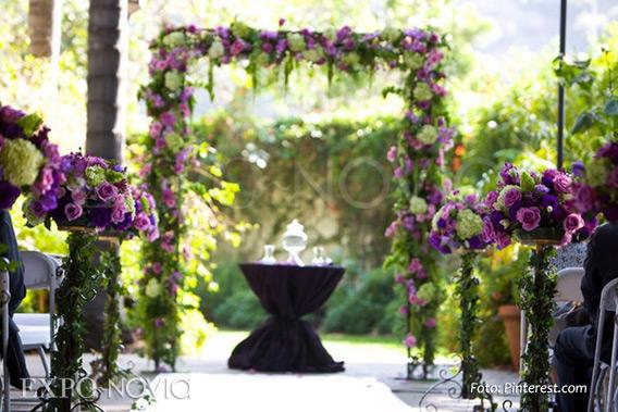 Ideas de decoraci n para boda en jard n exponovia for Boda en un jardin de noche