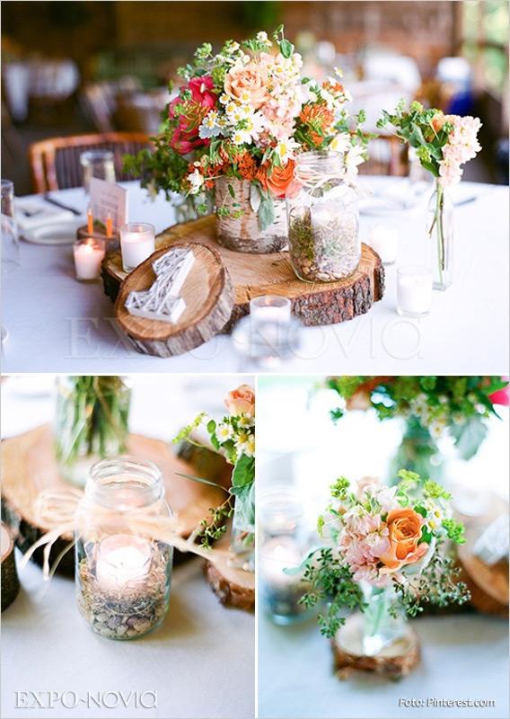 Matrimonio Rustico Como : Boda con estilo rústico exponovia