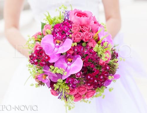 7 coloridas propuestas para tu ramo de novia