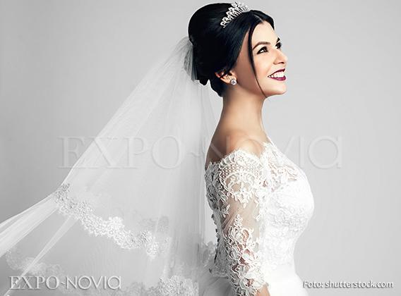 Velos para vestido de novia corte sirena