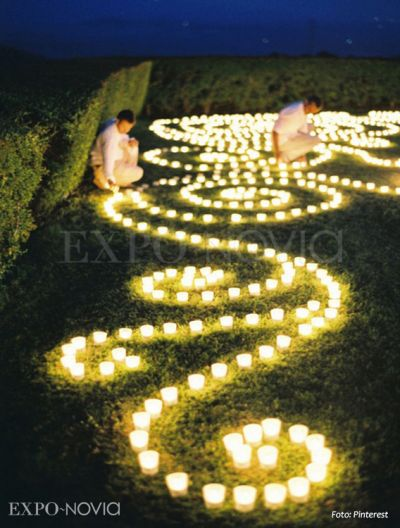 Matrimonio Tema Giardino Zen : Velas para la decoración de tu boda exponovia
