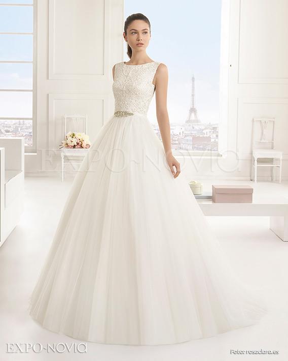 baa5f2a3b3 10 Vestidos de novia corte princesa para un día especial